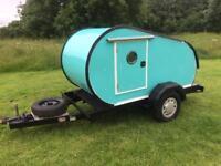 Teardrop Caravan Retro style, Newly built. Never been used £1995