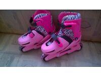 In line skates - pink