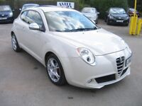 2010 ALFA ROMEO MITO 1.4 VELOCE , LOTS OF SPEC, GREAT LOOKING MODERN HATCH IN WHITE