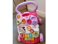Baby musical walker