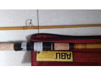 Vintage ABU Suecia 352 Zoom Spinning Rod.