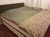 super king size storage bed