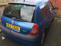 Clio, for Parts, not running well