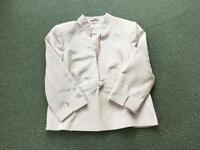Country Casuals ivory silk jacket size 14