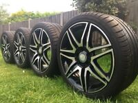 "GENUINE 18"" Mercedes amg sport plus alloys"