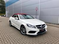 2013 63 Mercedes-Benz E350 AMG SPORT BlueTEC 7G-Tronic Plus CONVERTIBLE + RARE