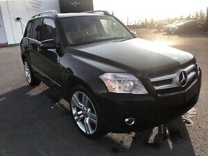 2011 Mercedes Benz GLK 350 4MATIC SUV Black Leather