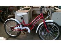 Apollo Ivory girls bike