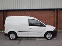 2011 VOLKSWAGEN CADDY 1.6 TDI 102PS + ONLY 62,000 MILES NO VAT