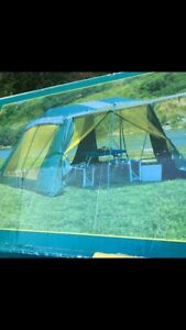 2 Tent Set ( 6 person sleeping tent and kitchen tent)