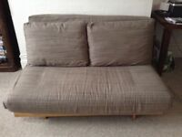 Futon. Two seater. Excellent condition.