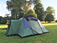 "Citadel 6 (6 person) Tent with footprint grounsheet ""As New"""