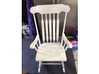 Rocking Chair Wooden