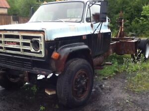 1980? GMC C/K 7000 Pickup Truck