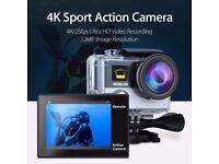*BRAND NEW* BOBLOV 4K Ultra HD Waterproof WiFi DualScreen