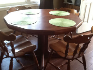 Dining Table and Four Chairs
