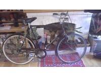 Vintage mens Raleigh Bike Connoisseur