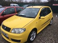 FIAT PUNTO SPORTING 1.4 6SPEED @ AYLSHAM ROAD AFFORDABLE CARS