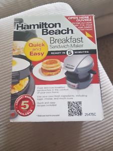 Breakfast Sandwhich Maker