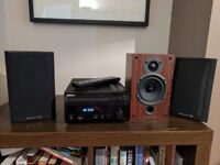 Denon DAB/CD Unit & Wharfedale Speakers