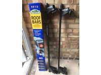 Roof bars for cars without roof rails