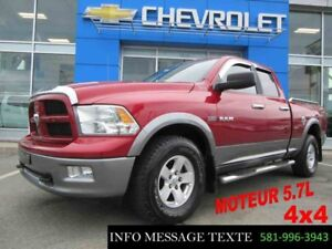 2010 Dodge RAM 1500 4WD QUAD CAB TRX4 OFF ROAD
