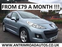 2010 PEUGEOT 207 SPORT 1.6 ** LOW MILES ** FINANCE AVAILABLE ** ALL CARDS ACCEPTED
