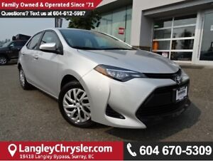 2017 Toyota Corolla LE W/BACKUP CAMERA & HEATED SEATS