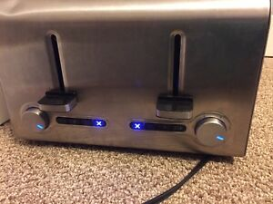 Stainless 4 slot toaster