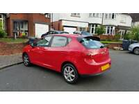 SEAT IBIZA 1.4 tdi Ecomotive 2010 5dr - 70mpg - £0 ROAD TAX not cupra FR polo corsa clio