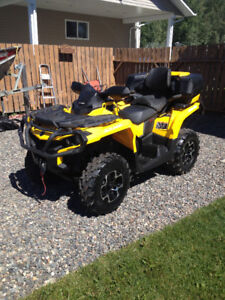 2 Up Can Am Outlander 650