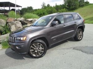 2017 Jeep GRAND CHEROKEE Limited 75th Anniversary V6 4X4 (LEATHE