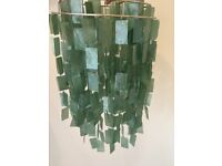 Easy Fit Pearl Effect Ligh Green Shell Shade