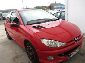 PEUGEOT 206 1.4 Look 3dr (red) 2007