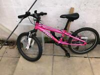 Jamis X20 girls mountain bike. Pink. 1 yr old