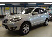 Hyundai Santa Fe PREMIUM CRDI [LEATHER / 7 SEATS / 4WD] (sparkling silver metallic) 2011