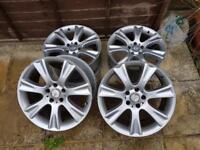 "Mercedes 18"" inch alloy wheels X4"
