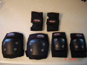 Youth Airspeed Knee Pads, Elbow Pads, Wrist Pads