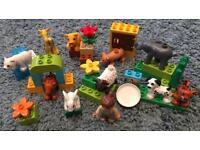 Lego Duplo Zoo and Farmyard Animals set