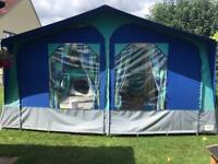 Conway Century Trailer Tent incl Camping shower and Toilet