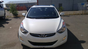 2013 Hyundai Elantra Sedan, 51000km, AC, Sunroof, Loaded