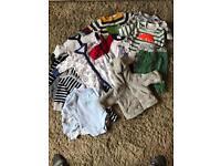 Baby boy clothes bundle mainly next.