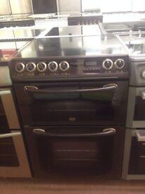 Brown Creda Reconditioned 60cm Electric Cooker, Birmingham