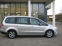 2012 ford galaxy 2.0 tdci diesel automatic, 86k silver, 12 mot, hpi clear 100%