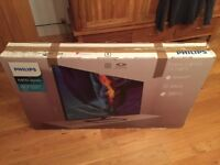 """Phillips 40"""" 4K ultra hd smart Tv. Android. Boxed. In new condition"""