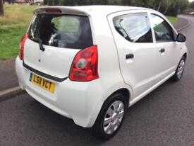 SUZUKI ALTO (2011 11 REG) 1.0 SZ2 + 5 DOORS + LOW MILEAGE £20 TAX