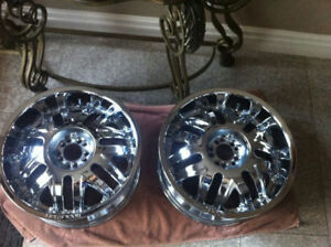 "20"" Rockstar Rims and Tires 245/45/R20"