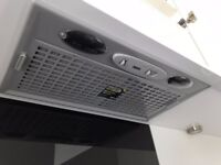 NEW! Zanussi Integrated Cooker Hood Grey