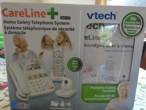 V TECH CARELINK HOME SAFETY TELEPHONE SYSTEM