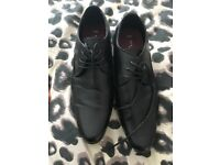 Black formal, men's shoes new look